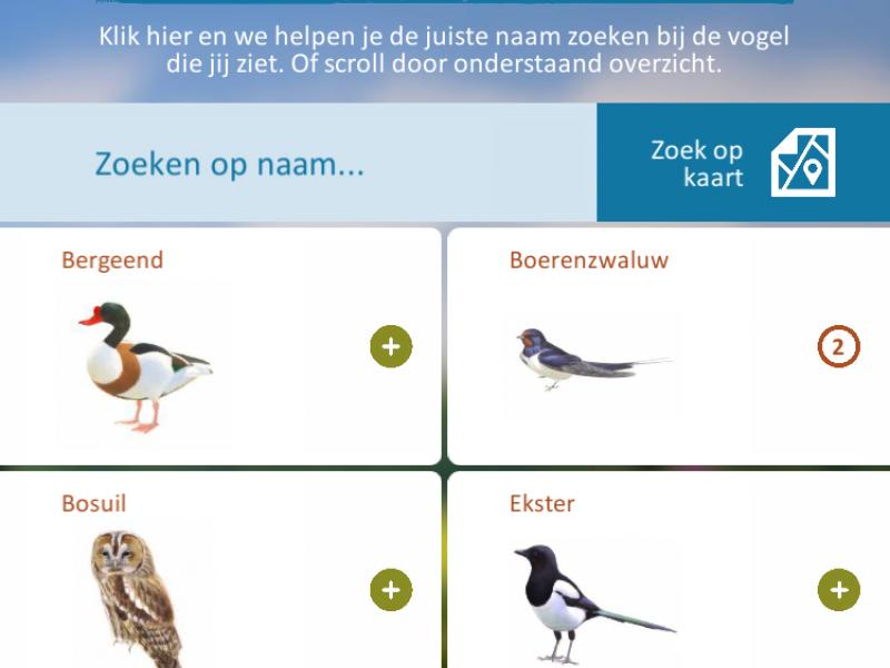 Verbazingwekkend De Slimme Vogels app | Slimme vogels ZI-58